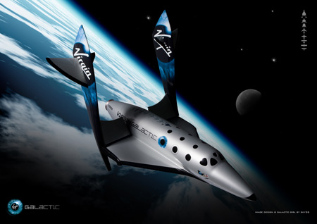 Virgin Galactic Spaceshiptw