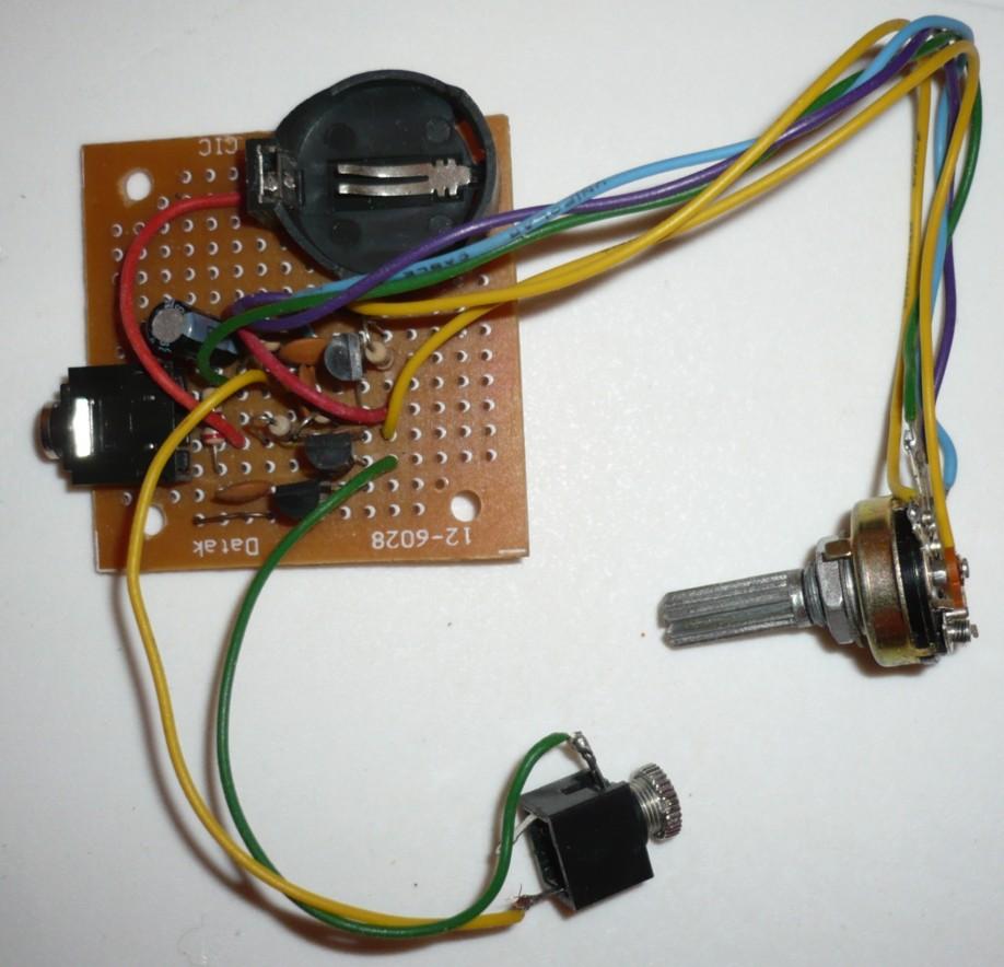 Arma tu propio Mini micrófono espía